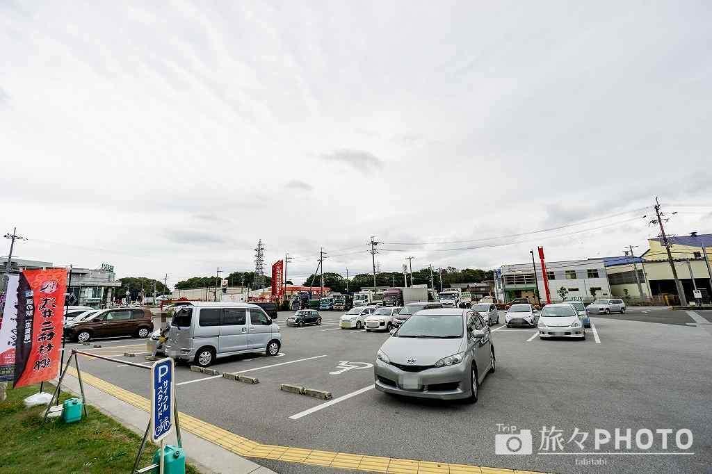 道の駅「浅井三姉妹の郷」駐車場