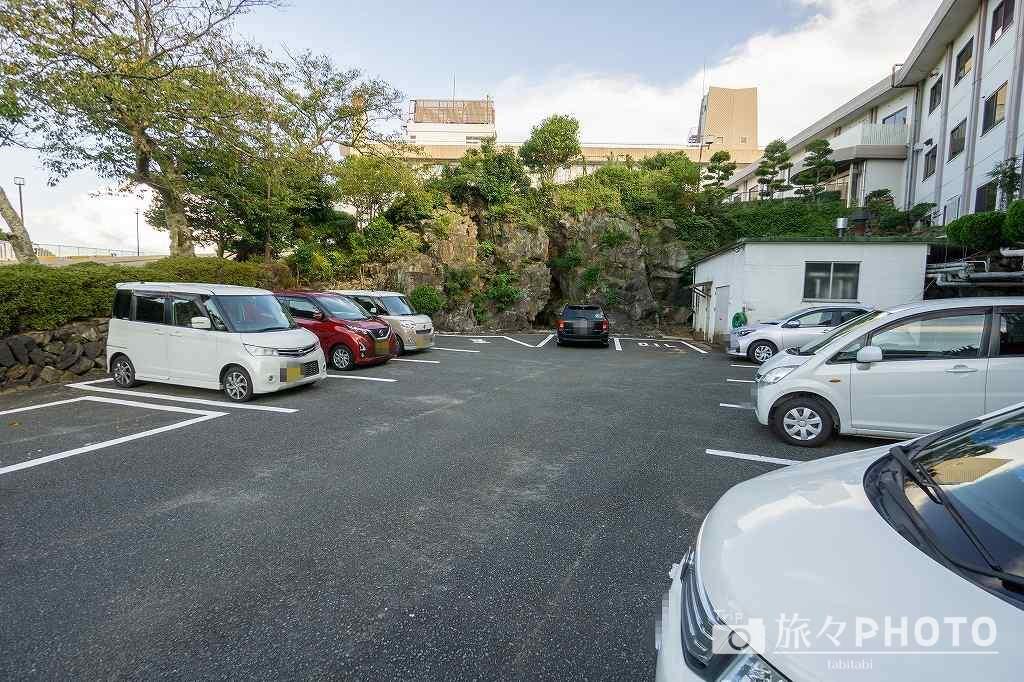 萩観光ホテル駐車場