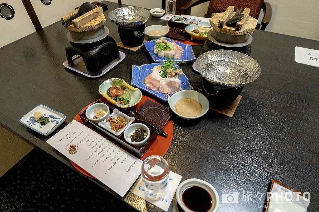 萩観光ホテル夕食
