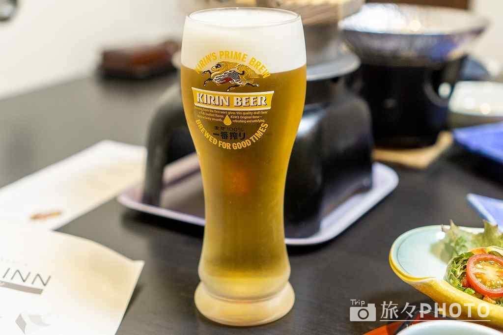 萩観光ホテル ビール