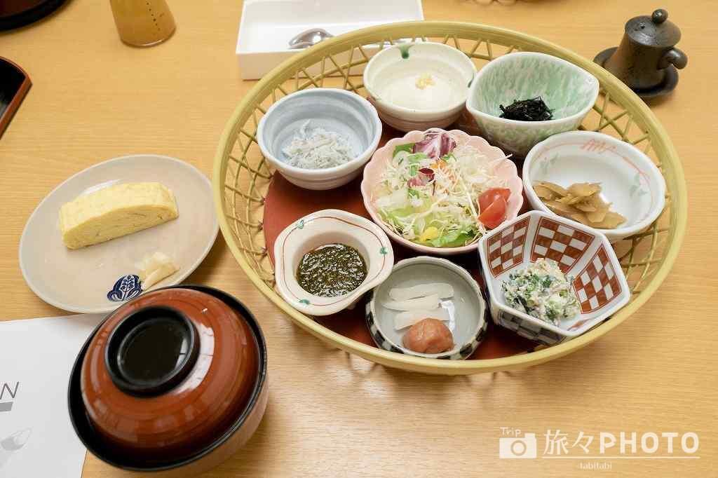 萩観光ホテル朝食