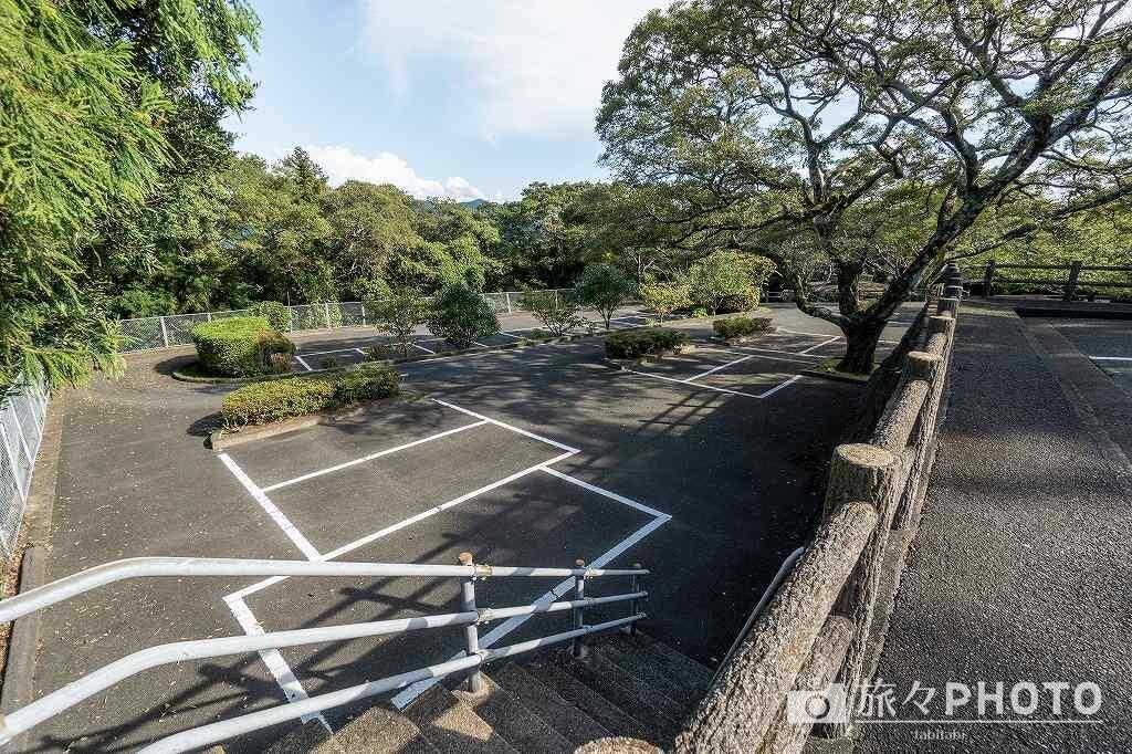 笠山山頂展望台 駐車場