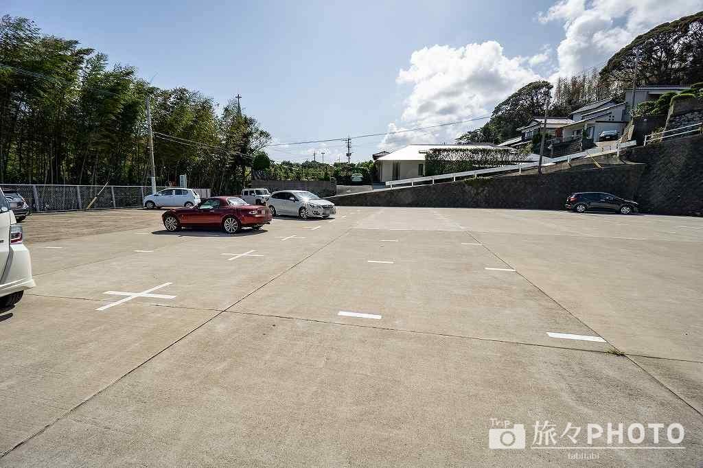 平戸ザビエル記念教会駐車場