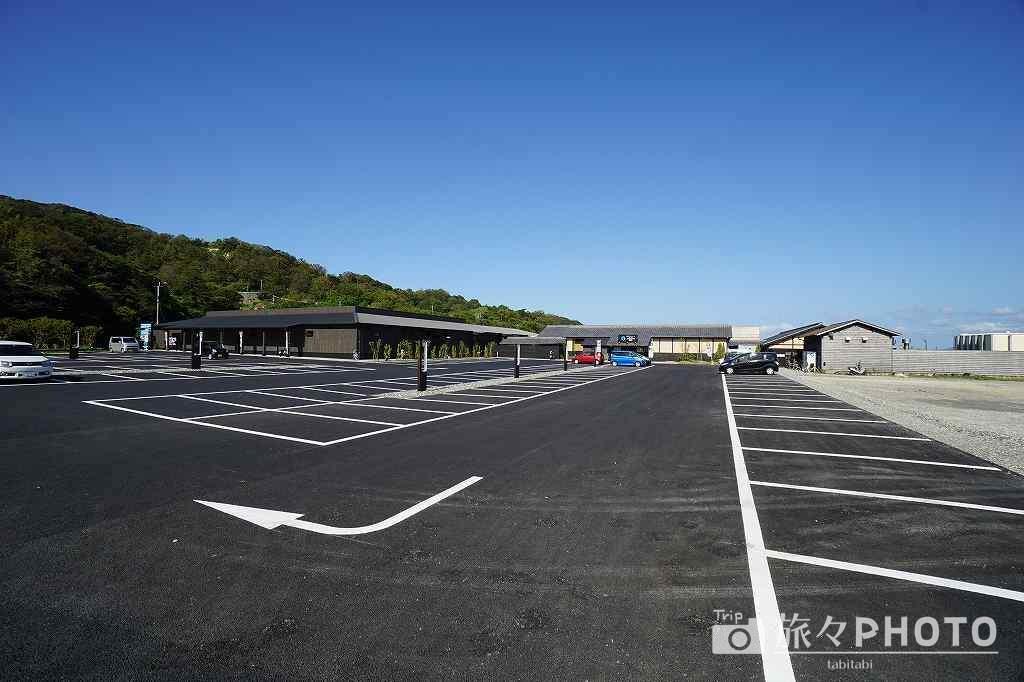 長崎温泉ArkLandSpa 駐車場