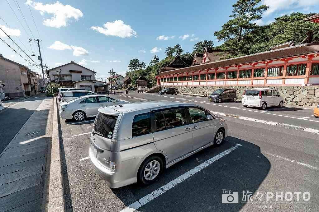 日御碕神社駐車場