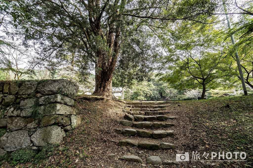 秋月城跡の長屋門