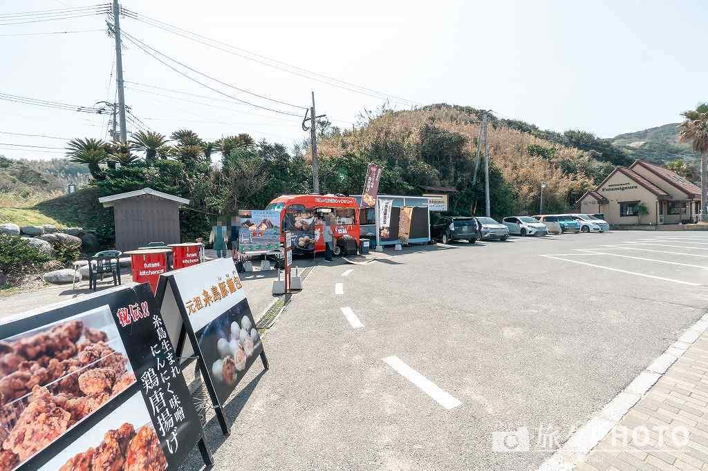 桜井二見ヶ浦の売店