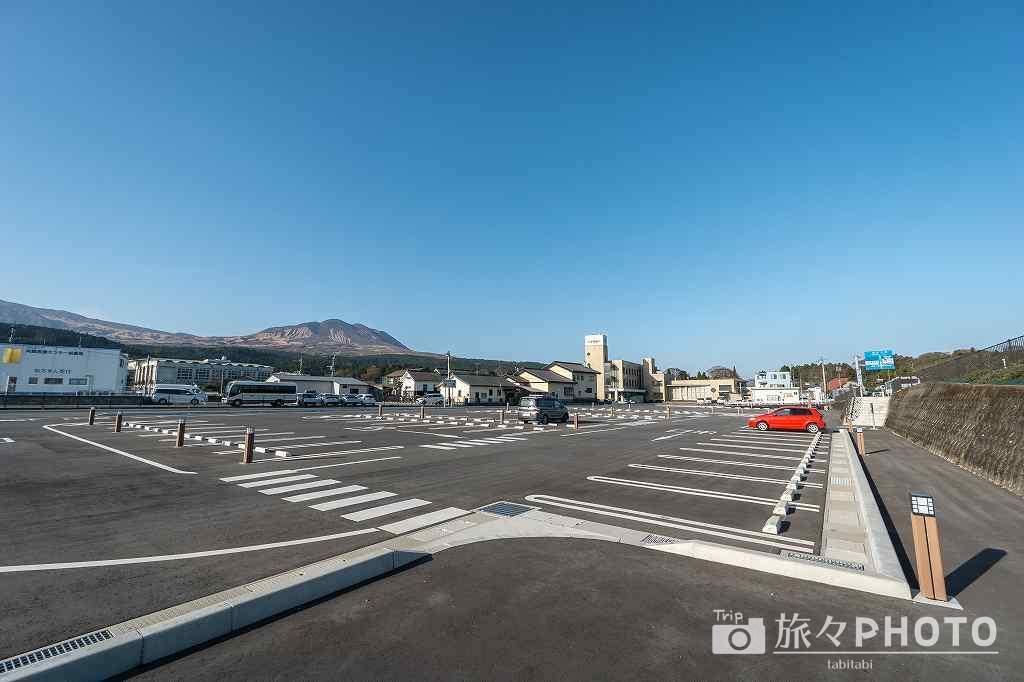 道の駅阿蘇の第2駐車場