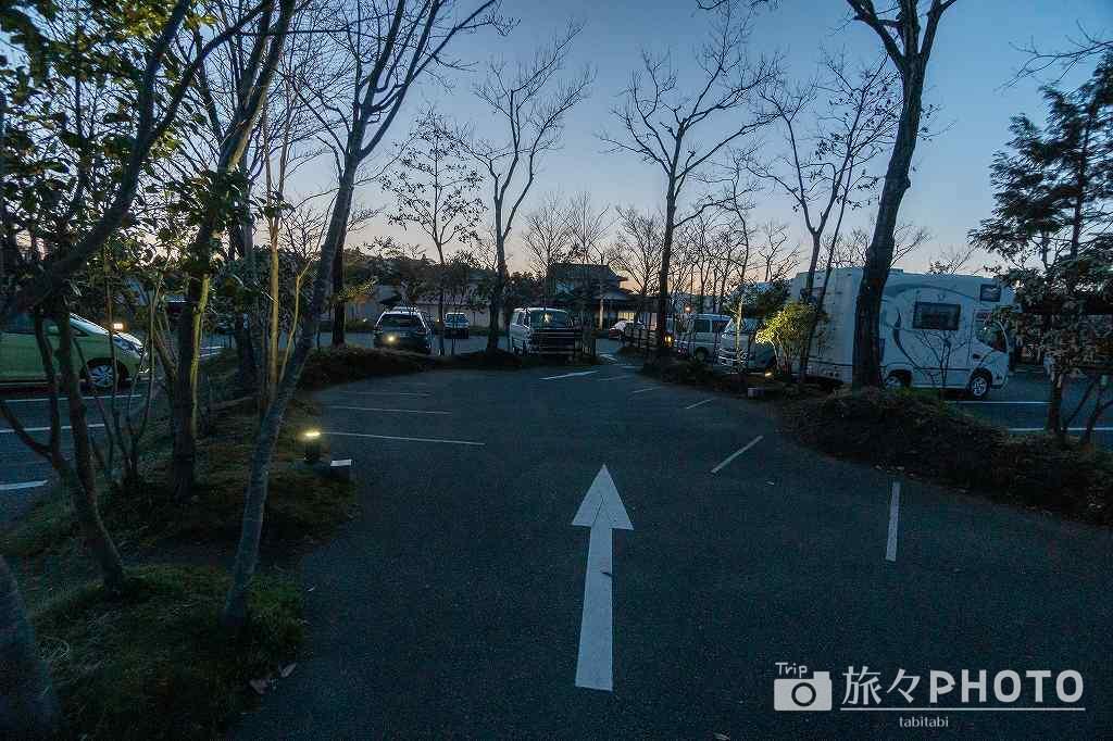 道の駅阿蘇の第1駐車場