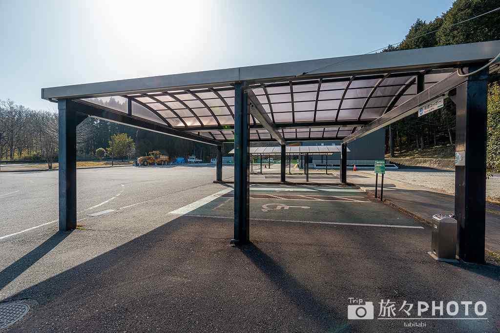 道の駅ゆふいん駐車場
