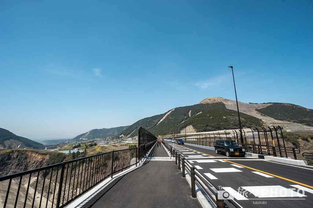 新阿蘇大橋展望所ヨ・ミュール