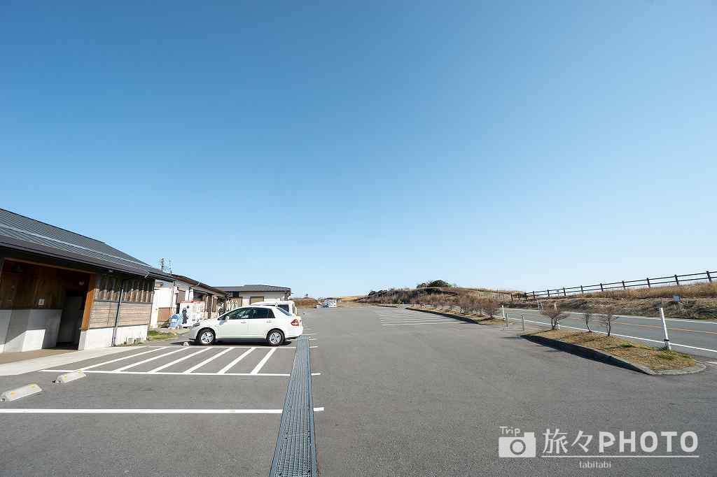 かぶと岩展望所の駐車場