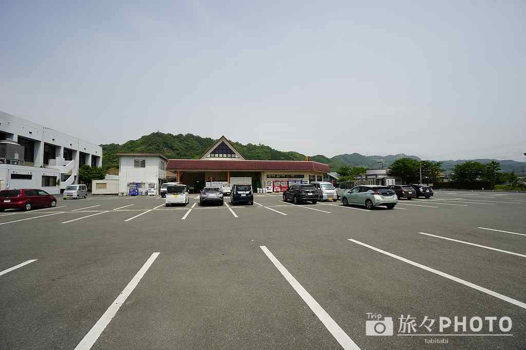 道の駅原鶴の駐車場