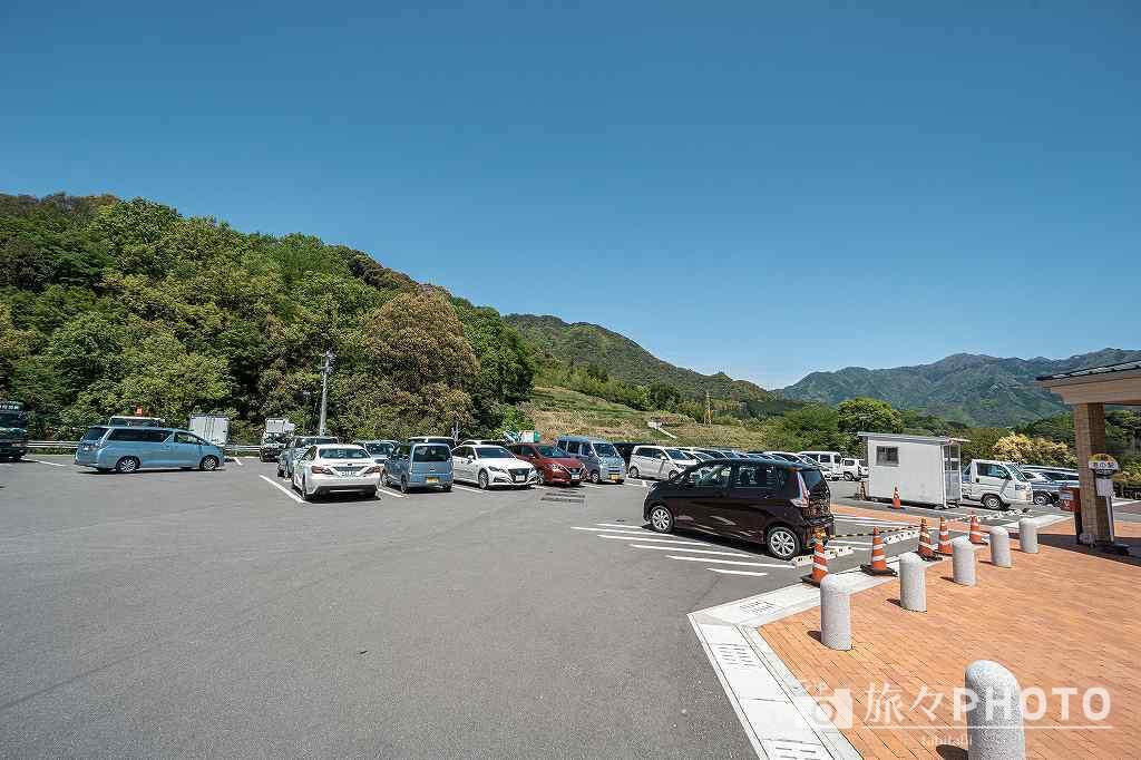 道の駅青雲橋の駐車場