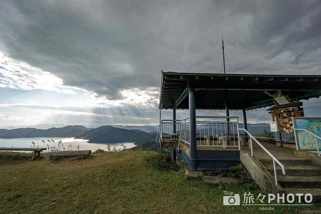 賤ヶ岳の展望台