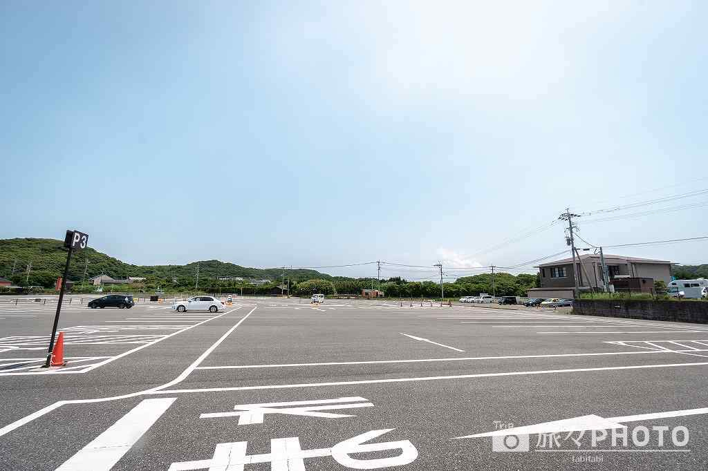 道の駅むなかた駐車場