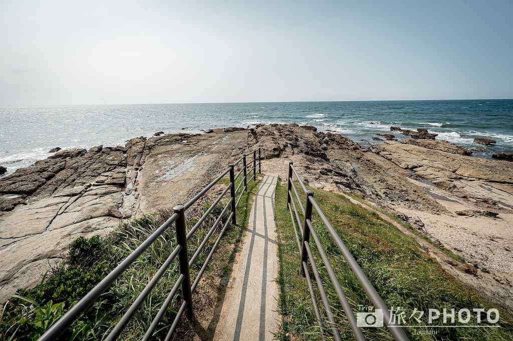 夏井ヶ浜はまゆう公園の響灘