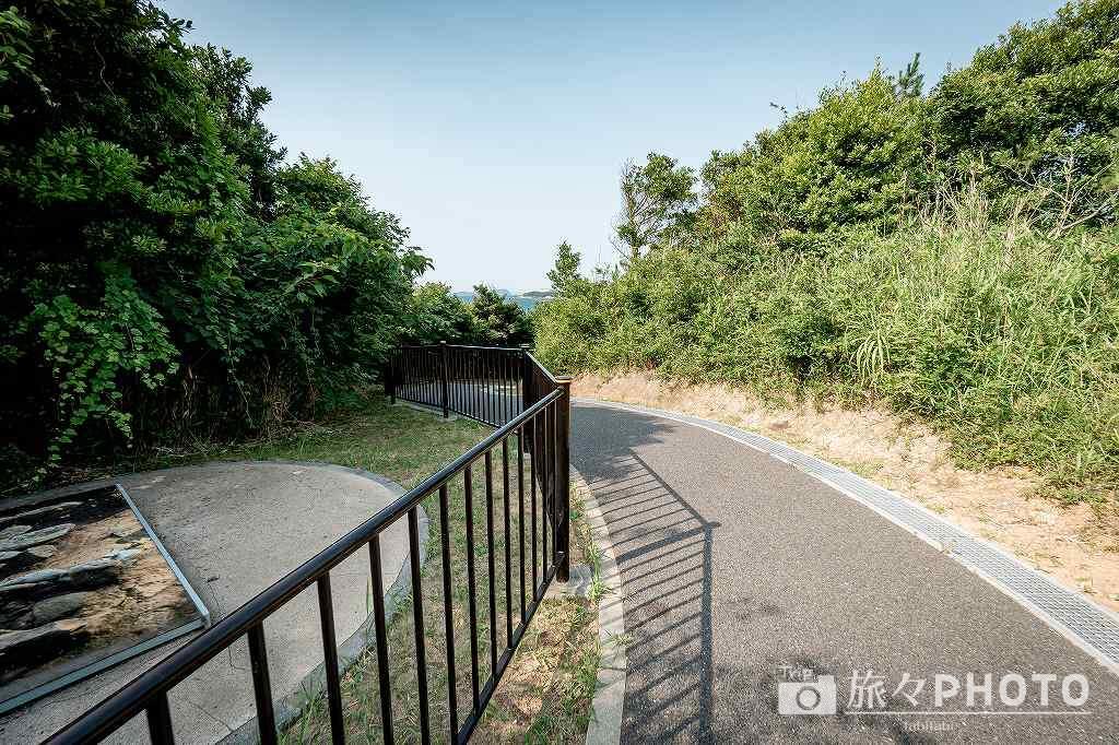 夏井ヶ浜はまゆう公園の展望台