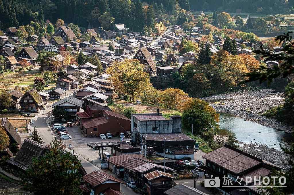 萩町城跡展望台