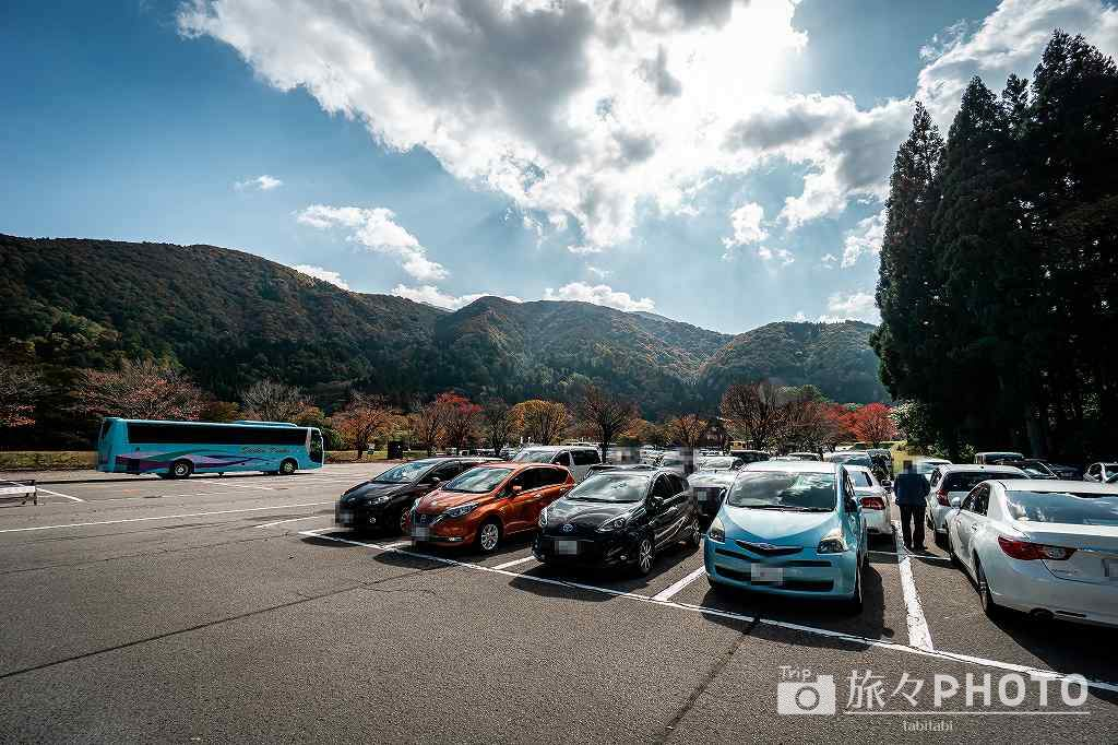 村営せせらぎ公園駐車場