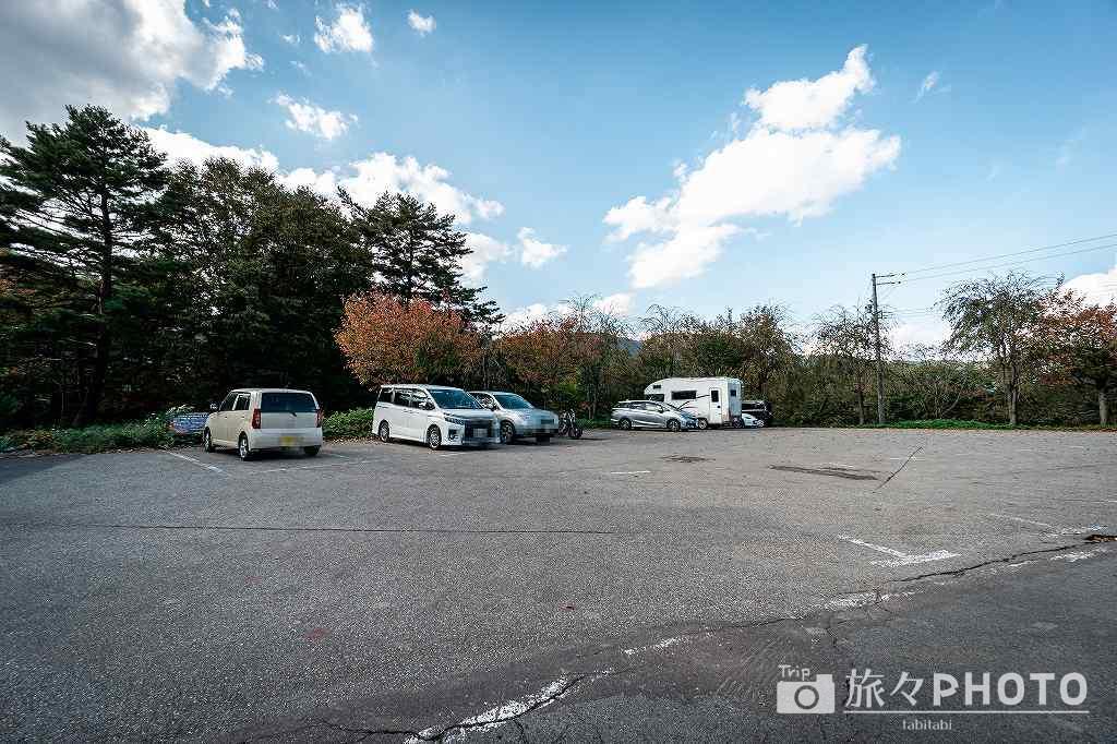 萩町城跡展望台駐車場