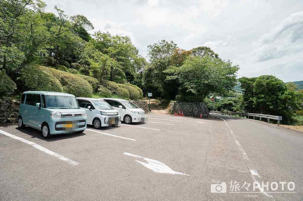 平戸城の駐車場